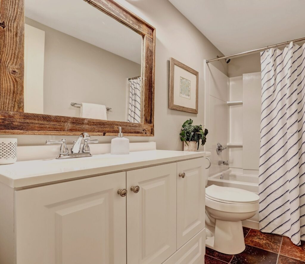 Install A Frame Around Your Mirror